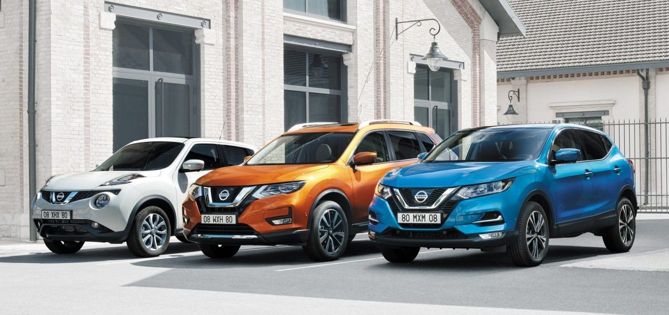 Nissan segmento SUV